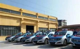 肇庆城区首批纯电动出租车正式上路